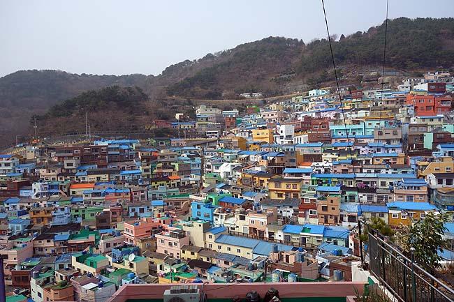 韓国のマチュピチュ「甘川文化村」絶景からのBIFF広場有名行列「シアホットク」