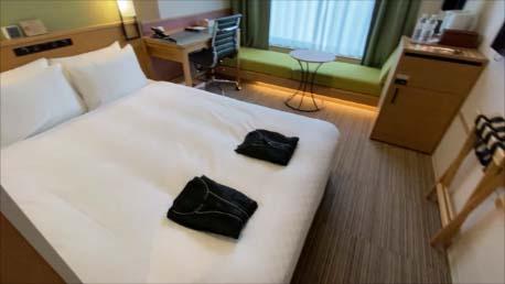 【東京新橋高級ビジネスホテル】大浴場・朝食バイキング付きで過去泊まったビジホでは最高の居心地か CANDEO HOTELS(カンデオホテルズ)