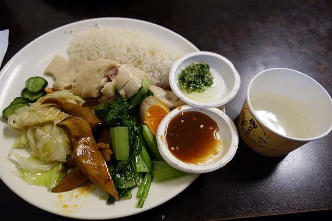 台北では再び違うドミトリー宿泊~台北で一番旨いシンガポール海南鶏飯を食ってみた
