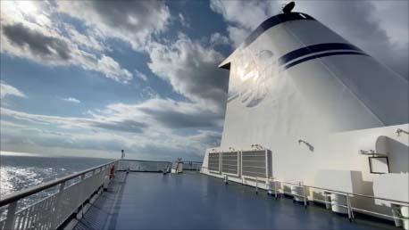 【太平洋フェリーきたかみ乗船記後編】ゴージャス系のきそ・いしかりと比べて船内設備は全然違うコンセプト!果たして?