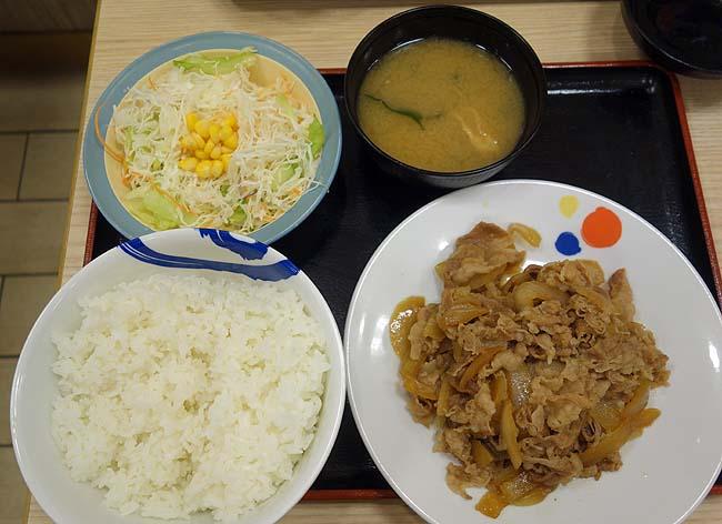 松屋のドカ盛り挑戦メニュー![お肉どっさりグルメセット]の特盛はまさに肉とご飯のエンドレス(一週間限定)