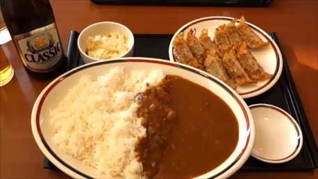 【北海道と全国B級グルメの王様】1日ではしご餃子の食べ比べをしてみた「餃子とカレーのみよしの」「餃子の王将の炒飯」