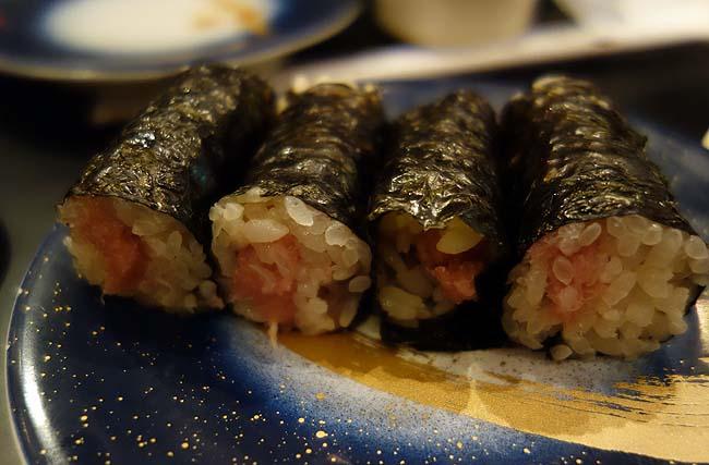 もり一 錦糸町テルミナⅡ店(東京)150円均一の回転寿司にしては上質ネタを提供されております