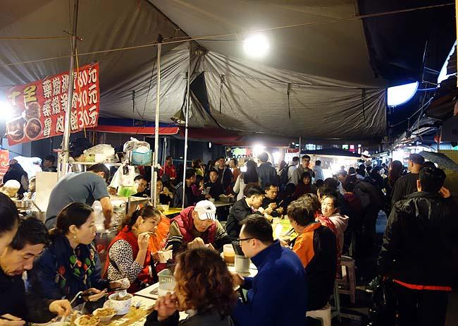 旧正月大晦日は台北メジャーナンバー2の「饒河街觀光夜市」へ(台湾)松山慈祐宮も