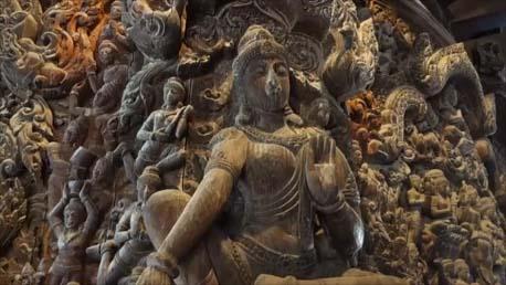 【サンクチュアリ・オブ・トゥルース】圧巻!東洋のサクラダファミリア♪その建築の内容とは? The Sanctuary of Truth