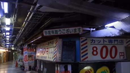 【東京散歩】浅草最古の地下街と外国人観光客のいなくなった浅草寺…グルメは浅草メンチをいただくぶら街歩き