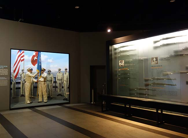 朝鮮戦争など朝鮮半島で発生した戦争の全てが分かります「戦争記念館」(韓国ソウル)内部展示編
