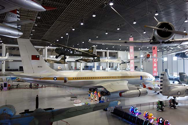 台湾で一番行きたかった場所♪「航空教育展示館」で日本では見られない戦闘機の数々!
