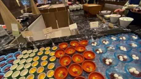【怒涛の8食連続バイキングその4】登別温泉 第一滝本館~朝食ブッフェもさすが高級ホテルの質・量でまた食べ過ぎてしまう…