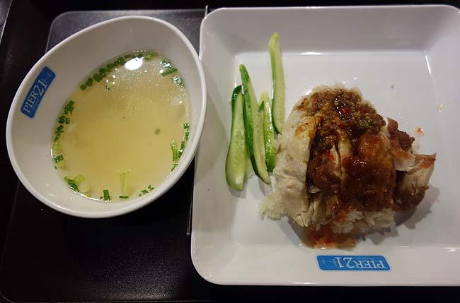 【タイバンコク】ターミナル21のフードコートは150~200円で1食いただけるのが驚異的!カオパットとカオマンガイの2食はしご