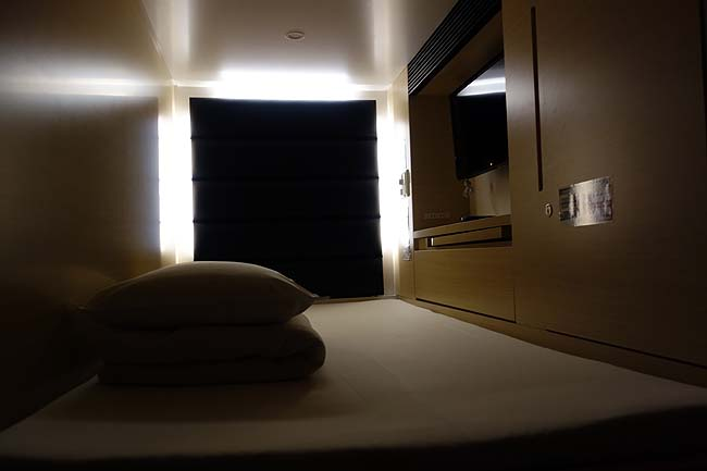 仙台での宿泊もカプセルホテル♪地元サラリーマンに大人気の激安もつ焼き屋で呑みます