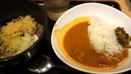 【東京B級グルメ】立ち食いそば朝食としては最高レベルって断言!都営地下鉄ワンデーパス(500円)を使って銀座「よもだそば」朝カレーセット