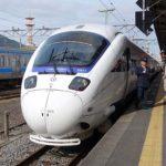 白いかもめで有名な特急列車(JR九州885系電車・特急かもめ)ハッピーバースデイ九州パスその6