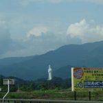 全長57メートルのやすらかなお顔の観音様「会津慈母観音」(福島会津若松)