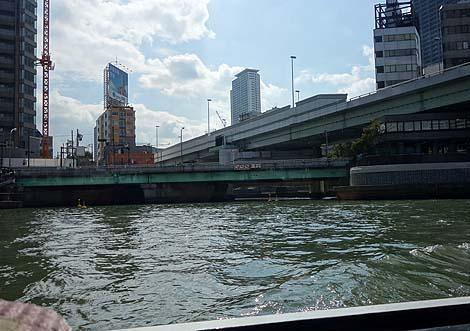 「アクアライナー」水上バスで水都大阪を観光(大阪城~淀屋橋)