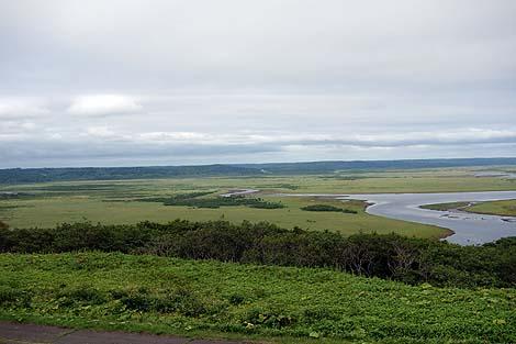 霧多布湿原と太平洋の岸壁♪2つの眺めが楽しめる「琵琶瀬展望台」(北海道浜中町)