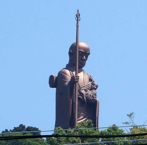 出来たてホヤホヤの地獄&ムフフ♪ネタの廃墟!延命山大聖寺大秘殿(愛知蒲郡)付録「子安大師像」