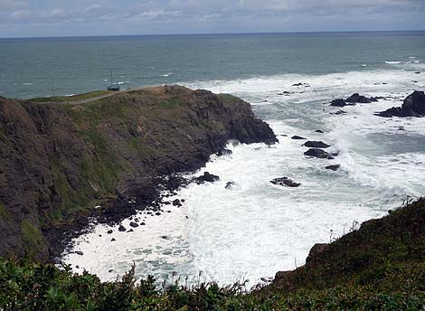山岳地帯以外で年平均風速がもっとも大きい十勝最南端「襟裳岬」(北海道えりも町)