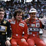 セナ・プロスト・マンセル・ピケが仲良く肩組んでる写真を見て・・・(1986年シーズンでのF1)