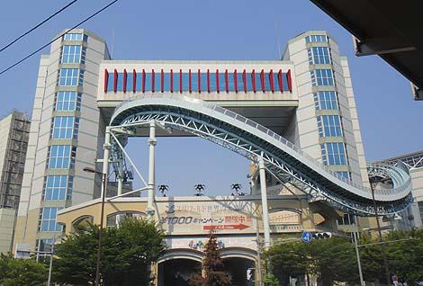 滅びゆく大阪の遺産 フェスティバルゲート(大阪新今宮)