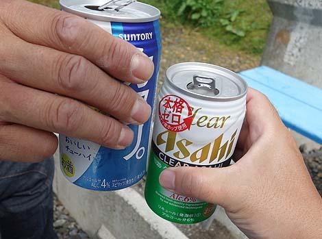 道北アークス ふじ 上富良野店(北海道)この旅初のオートキャンプ場で宿泊し焼肉で乾杯♪