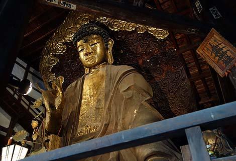 岐阜大仏 黄檗宗金凰山正法寺(岐阜市)日本三大仏の一つに数えられるが果たして?