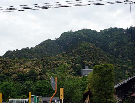かつて稲葉山城と呼ばれた斎藤道三居城の山城「岐阜城」(岐阜金華山)復興天守