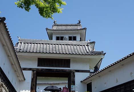 木造再建城としては日本最古の山城 「郡上八幡城」(岐阜郡上)模擬天守