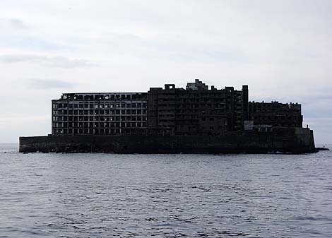 廃墟の王者にようやく出逢えました 軍艦島[端島]海上周遊編(長崎)