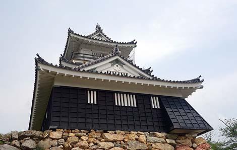 徳川家康の居城でもあった出世城「浜松城」(静岡県浜松市)復興天守