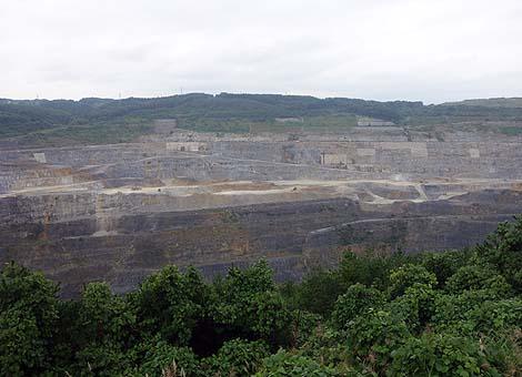 海抜マイナス170mと日本一低い地がある日本のグランドキャニオン「八戸キャニオン」(青森八戸)