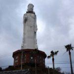 どこからでも見える高さ100mの巨大廃墟 世界平和大観音像(兵庫淡路島)