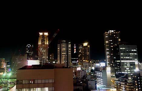 HEP FIVE 観覧車(大阪梅田)梅田都心部の夜景見物