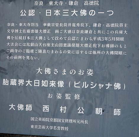 日本3大仏の1つ?「兵庫大仏」(神戸能福寺)