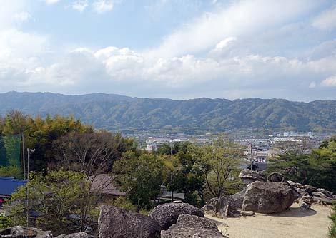 転落死者も出るくらいの日本一の石垣「伊賀上野城」(三重伊賀)
