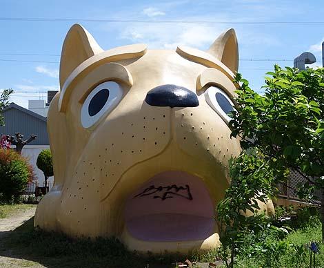 全国でもここだけでは?街中に突如現れるイヌ型消防団詰所(愛知名古屋)