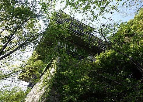 岩崎城歴史記念館(愛知日進)廃城跡に建てられた模擬天守