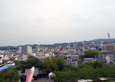 日本初の木造復元天守「掛川城」高知城に似てるのは何故?(静岡掛川)