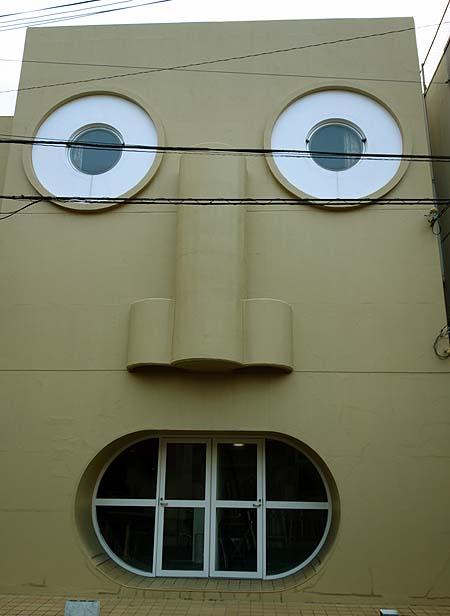 顔の家(京都中京区)珍設計住宅