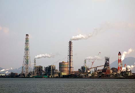 北九州工業地帯(福岡北九州小倉)工場写真・工場夜景