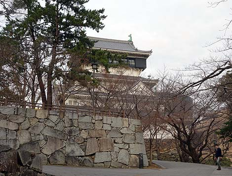 小倉城(福岡北九州)復興天守がある城