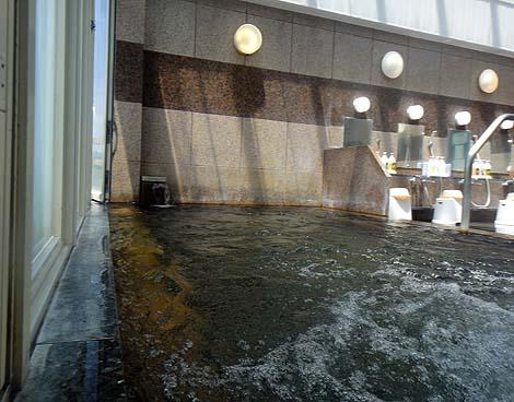 小諸市街地にあるホテルの展望風呂「小諸グランドキャッスルホテル」小諸温泉 ブルースカイ(長野小諸)
