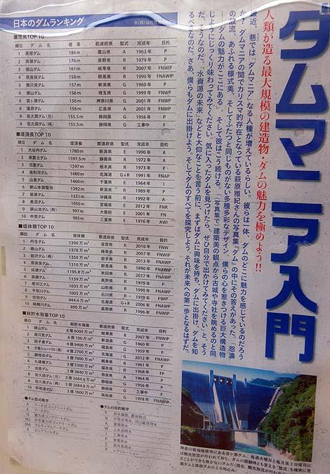 壮大な高さ114mのダムの中に入れるぞ!「小里川ダム」堤体一般開放見学(岐阜恵那)