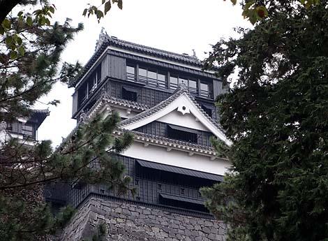 日本の城の中で一番かっこいい天守閣だと思っています「熊本城」(外観復元天守)