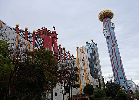 見た目はUSJのアトラクションやな・・・これがごみ処理施設?(大阪市環境局・舞洲工場)珍建築