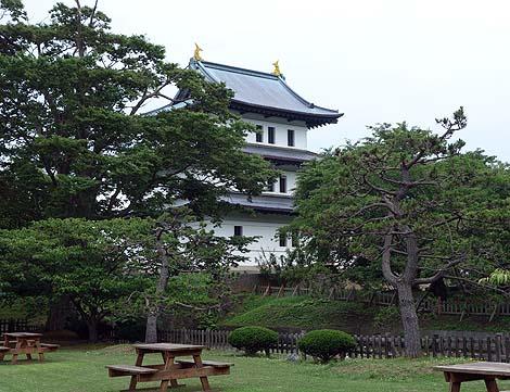 日本最後の和式城郭とも言われている北海道で唯一天守閣のある城「松前城」(北海道松前町)