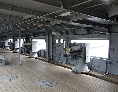 日本の軍艦の中では唯一の記念艦です「戦艦 三笠」(神奈川横須賀)