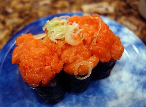 鮨処 なごやか亭 新川店(北海道釧路)一皿200円前後が平均的な北海道らしさ満載の回転寿司
