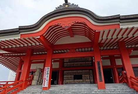 巨大観音像と地獄道 成田山久留米分院(福岡久留米)B級珍スポット