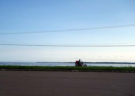 延長28kmにわたる砂嘴は規模としては日本最大!「野付半島」(北海道標津郡標津町及び野付郡別海町)